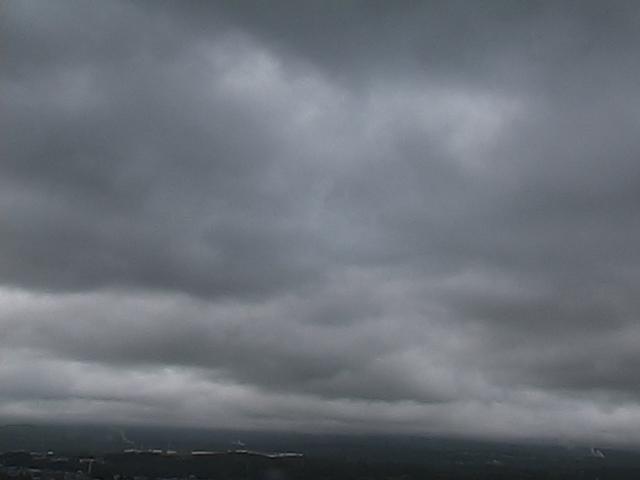 写真:富士宮市役所からの富士山です